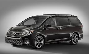 cars toyota black 2018 toyota sienna photos and info news car and driver