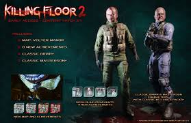 killing floor 2 early access content patch 01 available now on steam