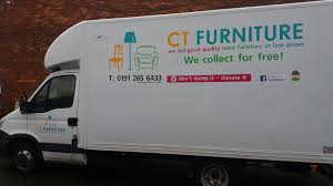 Home CT Furniture - Donating sofa to charity