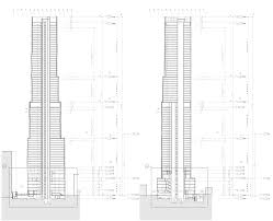 skyscraper floor plan new york by gehry dezeen