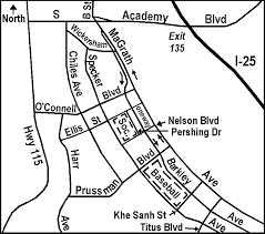 fort carson map sfc fort carson fields