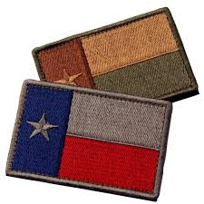 State Flag Velcro Patches 2 Texas State Flag Embroidered Tactical Velcro Applique Patch