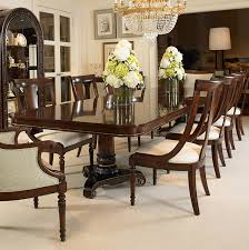 pedestal dining table with leaf 309 304 double pedestal dining table