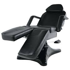 hydraulic pro twin tattoo chair bed black