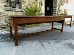 Antique Farm Tables by 18th Century French Farmhouse Table 98 Inch Length For Sale