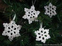 crochet snowflake pattern lots of ideas tutorial