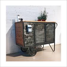 Vintage Holzverkleidung Küchenwagen Aus Holz Und Metall Walter Vintage Möbel U0026 Accessoires