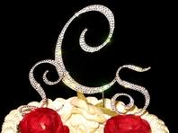 w cake topper wedding cake toppers monogram and groom