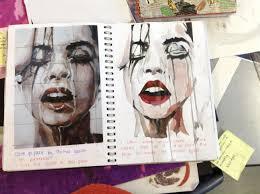 Art And Design Gcse Img 0168 Jpg 2592 1936 Ideas For Sketch Book