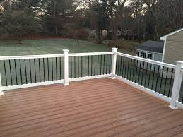 our new trex transcend deck deck color tiki torch outdoor