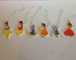 Handmade German Christmas Decorations by Vintage Ornaments U0026 Accents Etsy