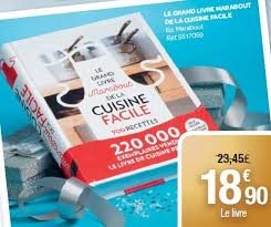 le grand livre marabout de la cuisine facile carrefour promotion le grand livre marabout de la cuisine facile