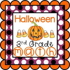 halloween math worksheets 3rd grade common core by teaching buddy