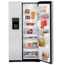 ge profile arctica customstyle 22 6 cu ft stainless side by
