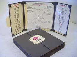 printing wedding programs 39 best custom designed wedding programs images on
