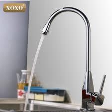 how to open kitchen faucet xoxo single open kitchen faucet zinc alloy cold heat sink