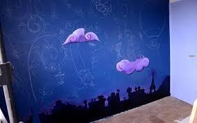 fresque chambre bébé fresque doudous dans la chambre de bébé ptit d une