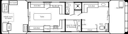 Pontoon Houseboat Floor Plans by Houseboat Adventures Inc 49 U2032 Houseboat