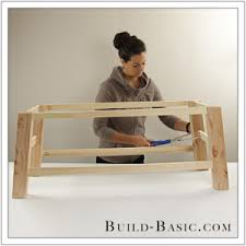 Build Basic Wooden Desk by Build A Diy Coffee Table U2039 Build Basic
