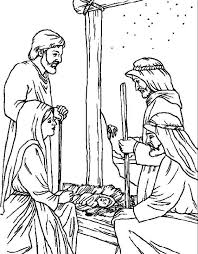 christmas bible coloring pages best resume collection