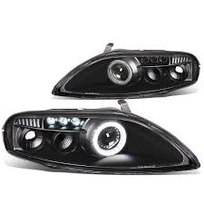 lexus sc300 black 00 lexus sc300 sc400 z30 pair of projector led halo ring