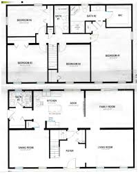 2 Floor House Plans 3d House Floor Plans One Bedroomhouse Plans Examples House Plans