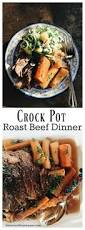 crock pot roast beef dinner reluctant entertainer