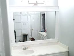 how to frame a bathroom mirror with molding the best 100 beauteous frame a bathroom mirror with molding image