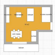 amenagement salon cuisine 30m2 aide aménagement d un espace séjour avec salon salle à manger et