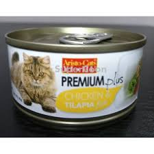 cats premium chicken tilapia fish 80g 1 carton 24 cans