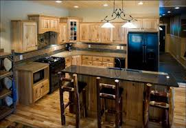 Replacement Bathroom Cabinet Doors by Kitchen Stained Hickory Cabinets Gray Shaker Kitchen Cabinets