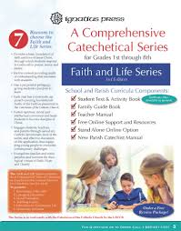 faith and life a catechetical series for grades 1 8 u2013 ignatius press