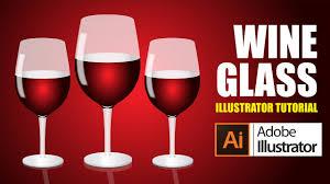 tutorial illustrator glass illustrator tutorials youtube how to draw a vector art draw wine