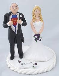 superman wedding cake topper superman groom and his wedding cake toppers craftjuice