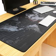 Office Desk Pad 2017 Brand New Breathable Absorbent World Map Pattern Mouse Pad