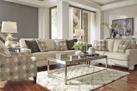 3 piece living room set signature design by ashley brielyn linen 3 piece living room set