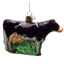 dairy cow 12229 ornament world