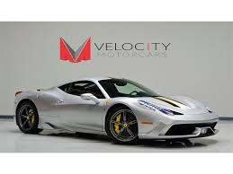 Ferrari 458 Coupe - 2014 ferrari 458 speciale for sale in nashville tn stock