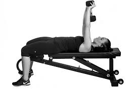 Bench Exercises With Dumbbells Upper Body Exercises To Do With Dumbbells Reader U0027s Digest