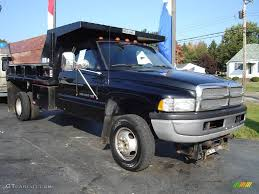 Dodge 3500 Truck - 1996 black dodge ram 3500 st regular cab chassis dump truck