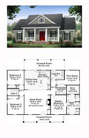 Hous Eplans Colonial Country Traditional House Plan 59952 Traditional House