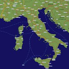 Italy And Greece Map by Map Of Italy And Greece Also Map Italy Germany With Cities