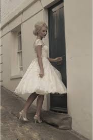 house of mooshki wedding dress sarah calf length gown in lace