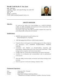 Working Student Resume Sample Philippines by Harold Cv