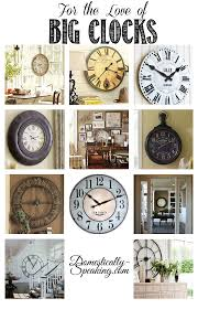 best 25 big clocks ideas on pinterest wall clock decor stair