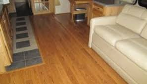 installing laminate flooring on a slide out rv