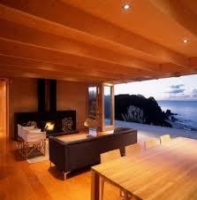 sea view living room living room black fabric modern sofa rectangular wooden table
