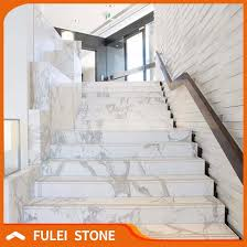 marble stairs indoor customized white marble staircase designs for marble buy