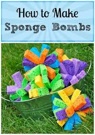 how to make sponge bombs sponge bombs camping and plays