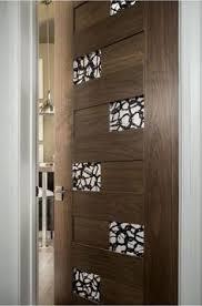 trustile modern door collection tm13000 in walnut with 1 4